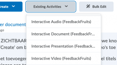 Interactive Study Materials onder 'Existing Activities' in Brightspace